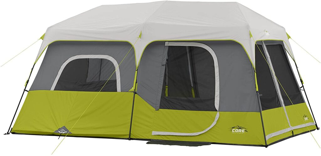 CORE Instant Cabin Tent for wind and rain