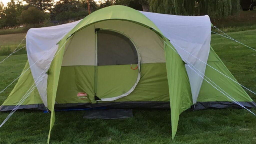 Coleman Elite Montana 8-Person Tent for wind and rain
