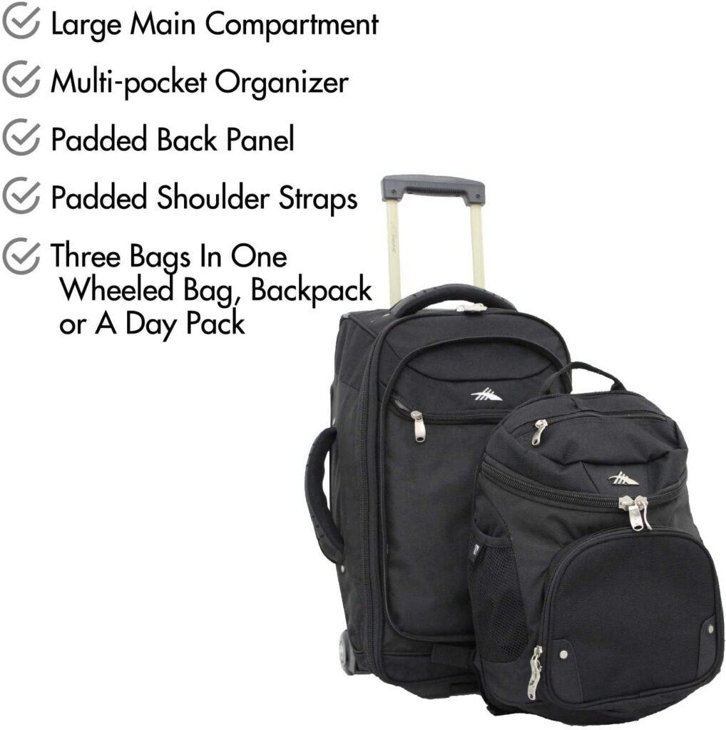 best backpack open like suitcase