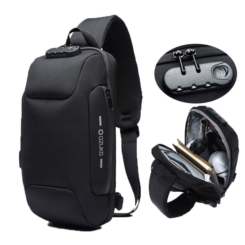 anti-theft one strap Bags for Men, best one trap bag for men